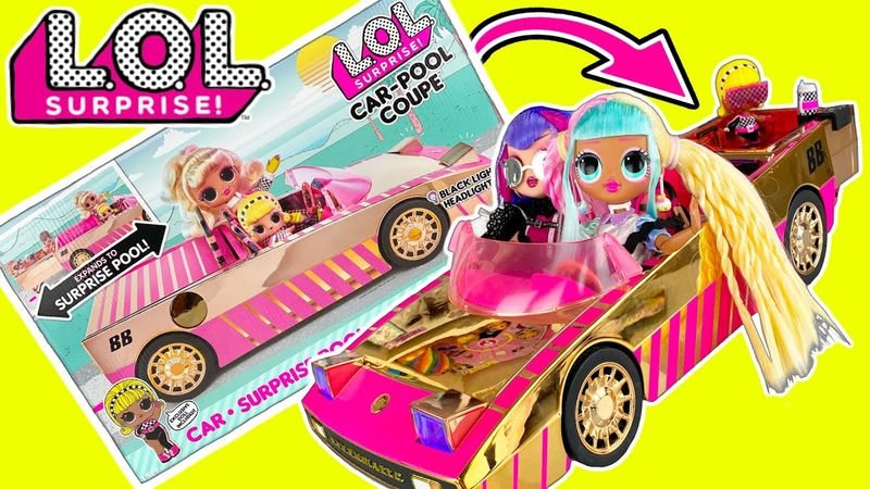 LOL Surprise Car-Pool Coupe! ALL THE FACTS LOL Dolls Finally Get A Car!