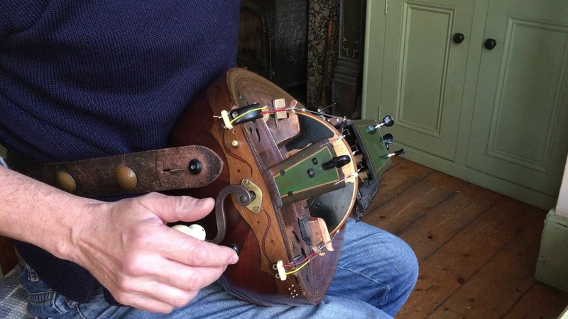 Hurdy Gurdy part 4 my trompette technique