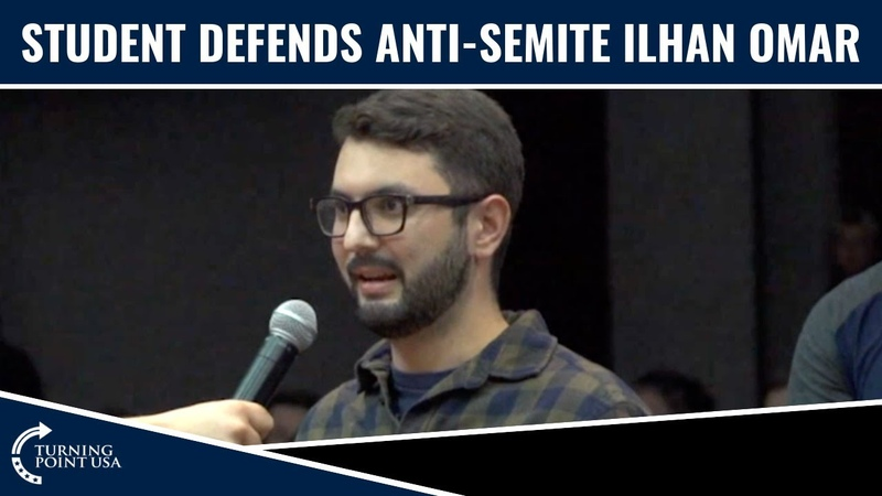 Leftist Student Destroyed After DEFENDING Ilhan Omar!