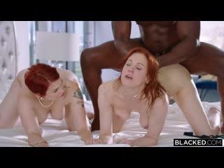 Maitland Ward and Bree Daniels - Porno, All Sex, Hardcore, Blowjob, Black, Threesome, Redhead, Porn, Порно