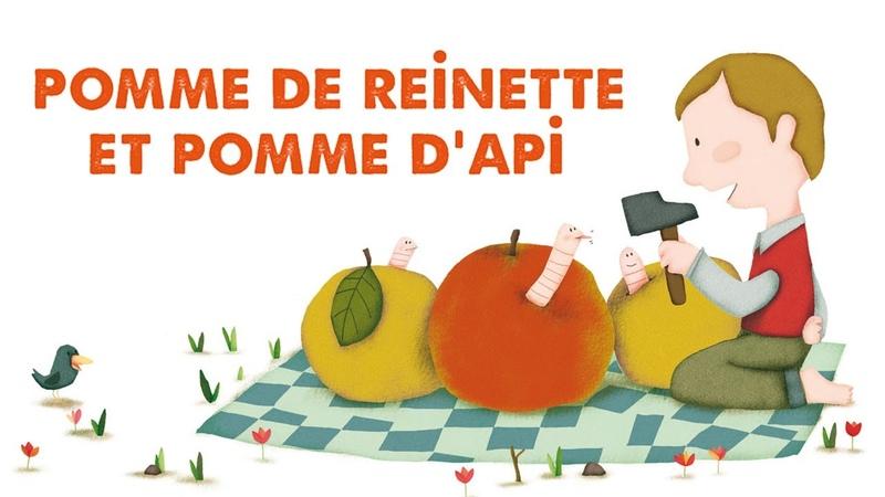 Jacques Haurogné - Pomme de reinette et pomme d'api - comptine pour enfants