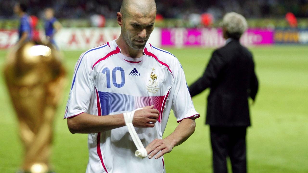 Зинедин Зидан. Сборная Франции, финал ЧМ 2006