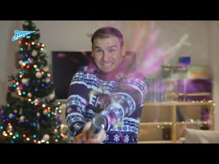 Новогоднее поздравление футболистов Зенита