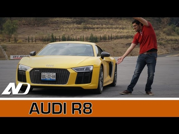 Audi R8 Un superdeportivo que se compra con el cerebro