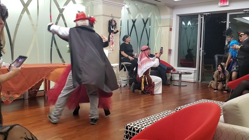 Best Vampire Waltz at RussianParty Halloweenparty (Лучий вальс вампиров)