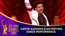 Kartik Aaryan's Electrifying Dance Performance Zee Cine Awards 2019