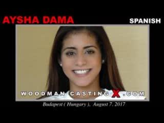 WoodmanCastingX - Aysha Dama