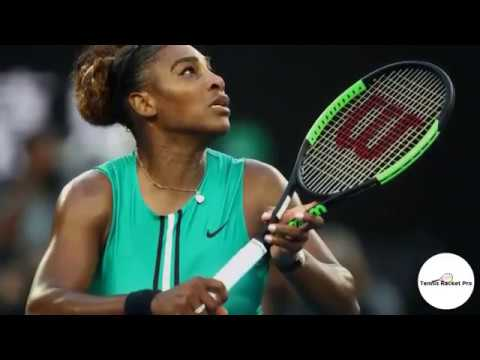 Serena Williams Racquet 2019 -Wilson Blade SW104Autograph Countervail