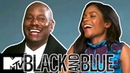 Black and Blue Cast Naomi Harris Tyrese Gibson Talk On Screen Chemistry MTV Movies