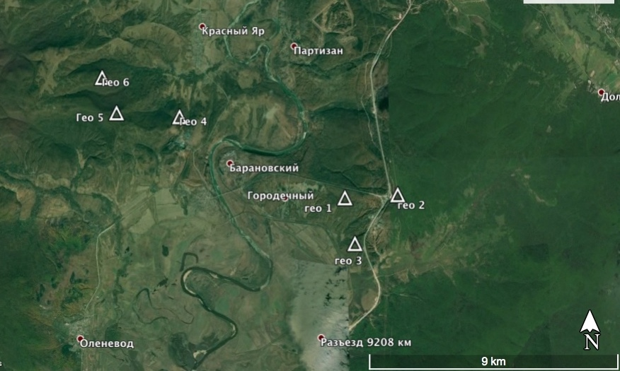 Геоглифы в Приморском крае