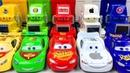 Машинки Тачки Развивающие Мультики про Машинки Учим Цвета с Игрушками Английский язык