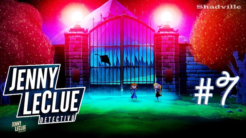 На кладбище ☀ Jenny LeClue - Detectivu Прохождение игры 7