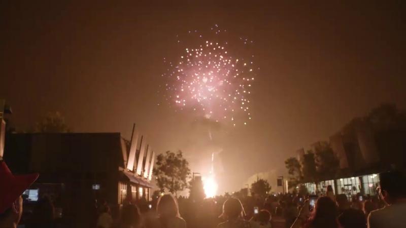 Elvis Presley's Graceland 4th of July Fireworks Extravaganza