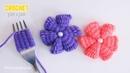 Como hacer una flor con un tenedor. Es posible, es fácil ?