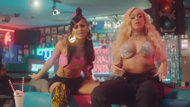 Mulatto ft Saweetie Trina B*tch From Da Souf Remix Official Video 2020