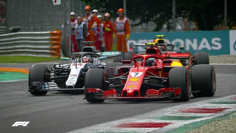 Raikkonen and Hamilton's Epic Monza Fight F1 Best Overtakes of 2018