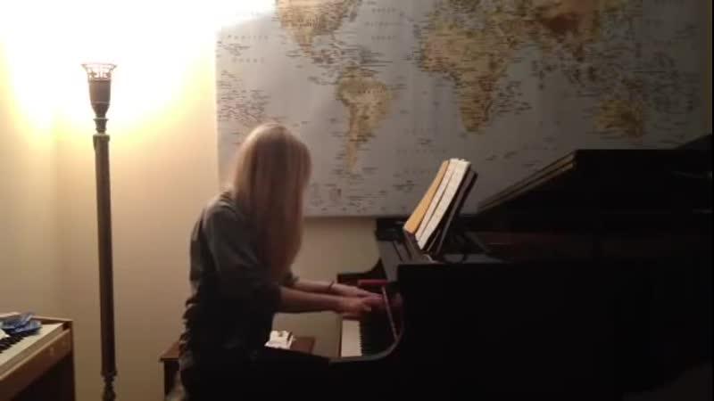 Kelly Moran Live Étude no1