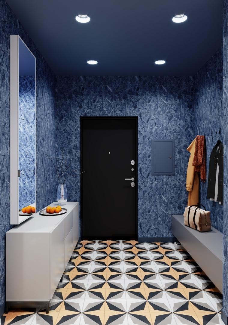 Дизайн-проект квартиры 114 кв.