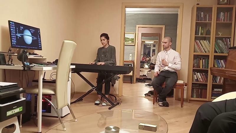 Анна Кардашева исполняет Мечтающая Шахерезада в мой День Рождения 12.10.2019