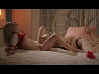 Charlotte Stokely and Chloe Foster - Stress Reliever [Lesbian]