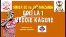 JKT Tanzania vs Simba SC 1-3 | Ligi Kuu ya Vodacom|Goli la 1 la Meddie Kagere.