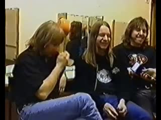 АРИЯ - 1 мая 1999 концерт в Питере ( интервью)