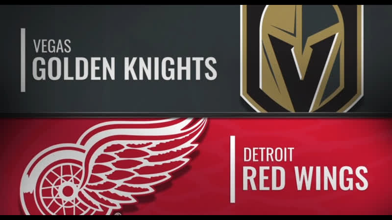 NHL Regular Season 2019-20 Vegas Golden Knights-Detroit Red Wings