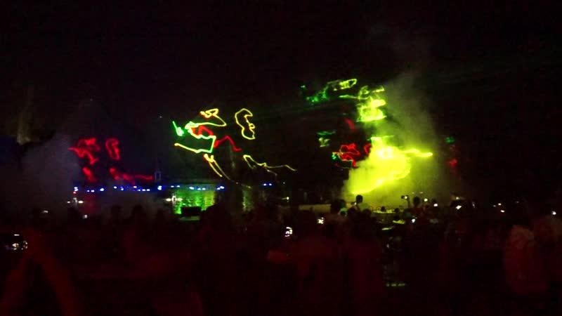 Шоу магия танцующих фонтанов. Протарас. Кипр. (Сиртаки)