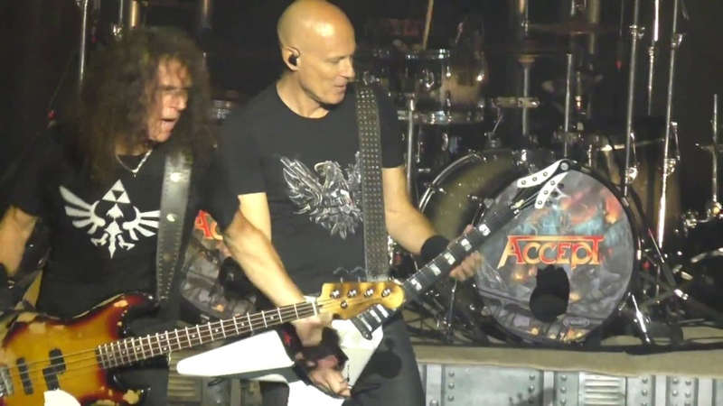 Accept Objection Overruled @ Arcada Theatre St Charles IL 9 29 2017