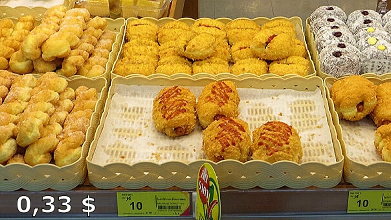 Цены на продукты и еду в Таиланде.  TdsGsYq0148