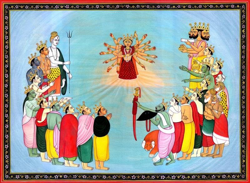 …देवीमाहात्म्यम्… «Величие Богини» Глава 2, изображение №1