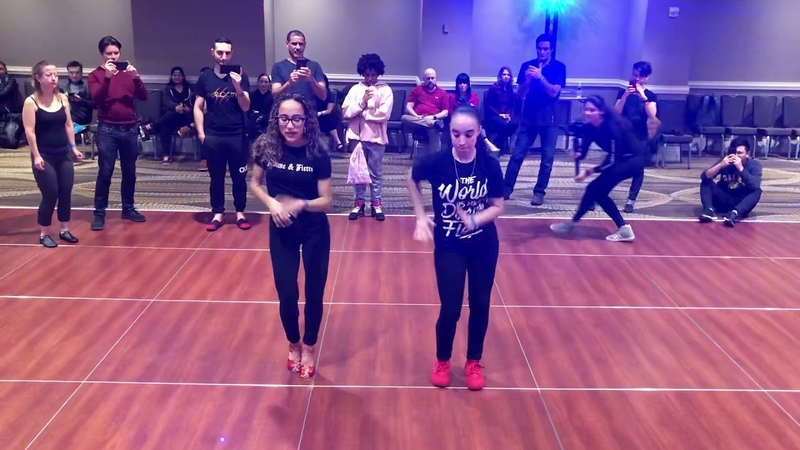 Ace Fusion and Ciara At DCBX Merengue Workshop