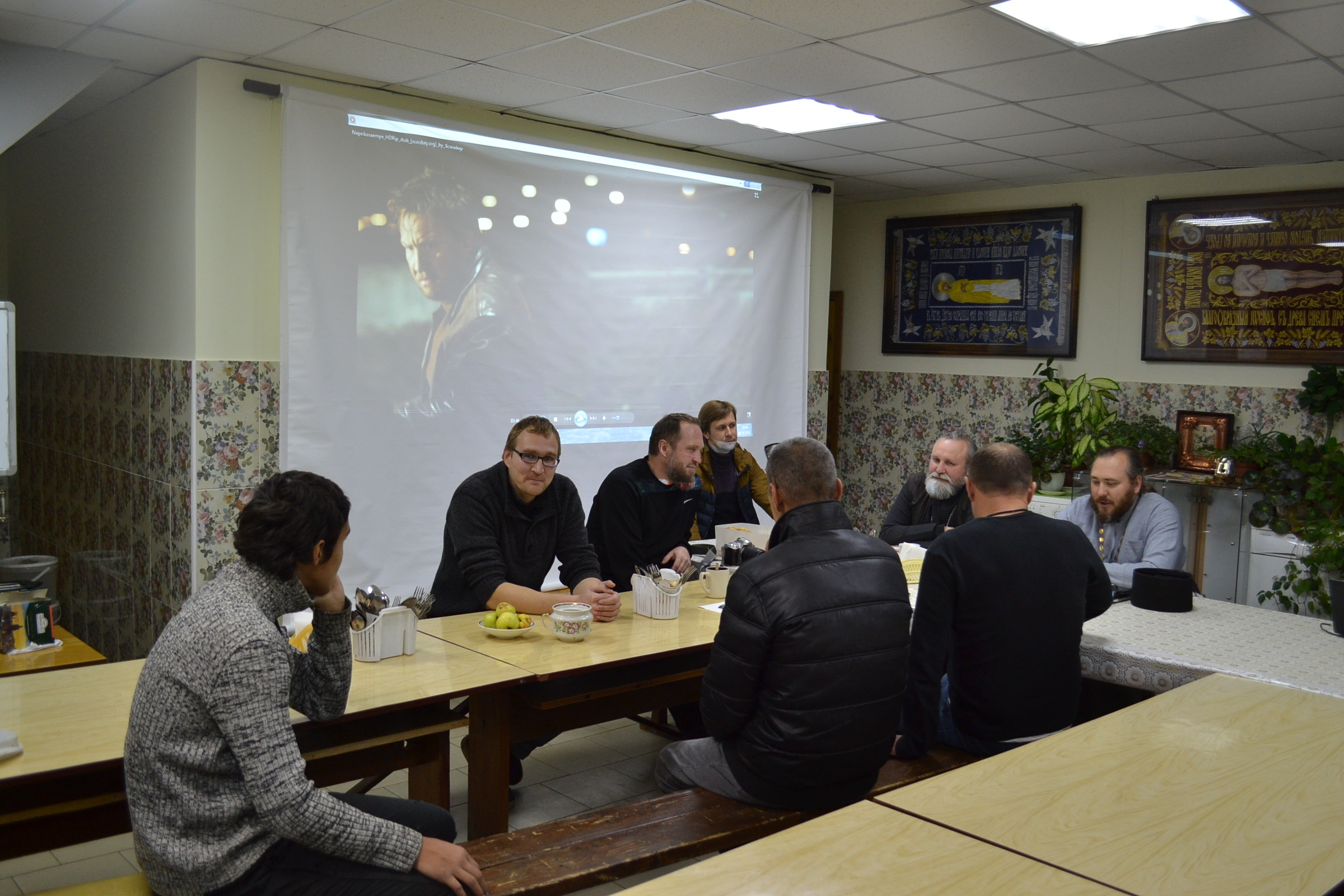 Наши добрые вечера и беседы с психологом Галиной Любегиной и настоятелем о.