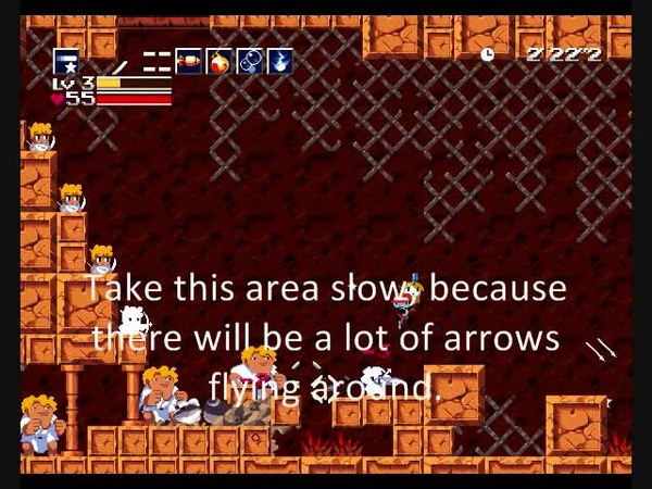 Cave Story Blood Stained Sanctuary Walkthrough