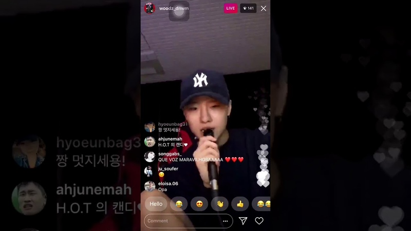 𝐖𝐎𝐎𝐃𝐙 Singing DEAN - What 2 Do On Instagram Live (31/05/18)