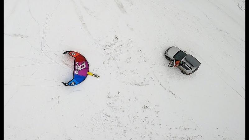 Snowkiting Ai Petri 4 01 2020