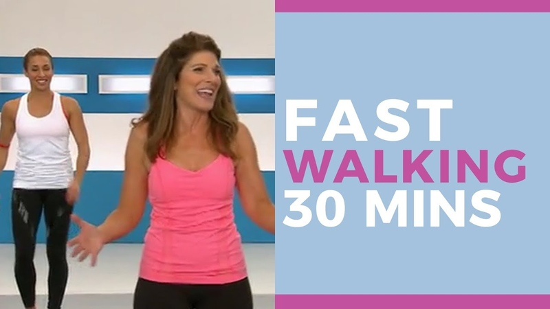 FAST Walking in 30 minutes Fitness Videos