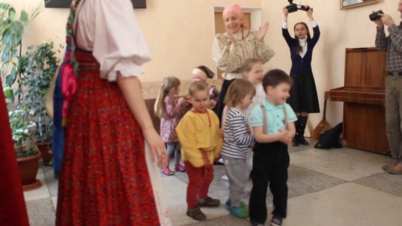 Хороводная игра Яблонька, Детская фольклорная студия Хоровод ЦТВ Домострой