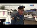 Вести-Хабаровск. На набережной Амура в Хабаровске разворачивают водоналивную дамбу