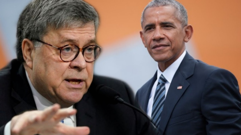 Barack Obama Is on the Edge of His Seat Over One William Barr Decision