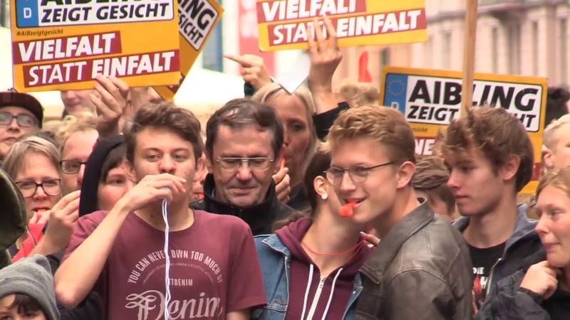 Organisator der Gegendemo, Luka Fischer, zu feige für Dialog