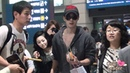2012 05 06 Kim hyun joong fancam @ Incheon Airport Arrival from singapore