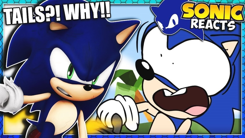 Sonic Reacts To Tails Invents a Thing Sonic Parody