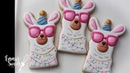 How to Decorate Llama Cookies by Emma's Sweets
