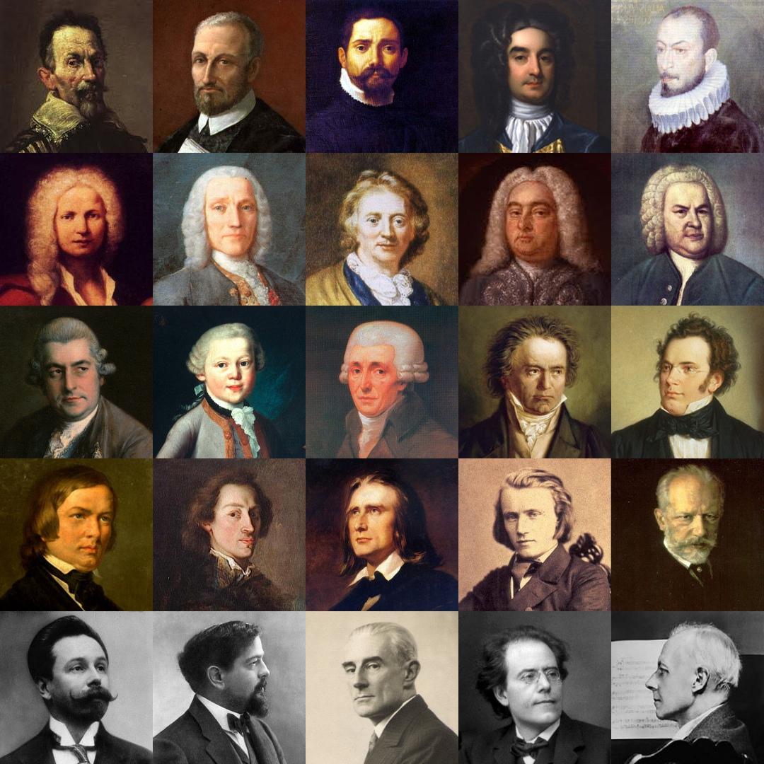 фотографии композиторов классиков