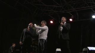 IL TEMPO DELLE CATTEDRALI (finale)  - GIO' DI TONNO, VITTORIO MATTEUCCI, GRAZIANO GALATONE
