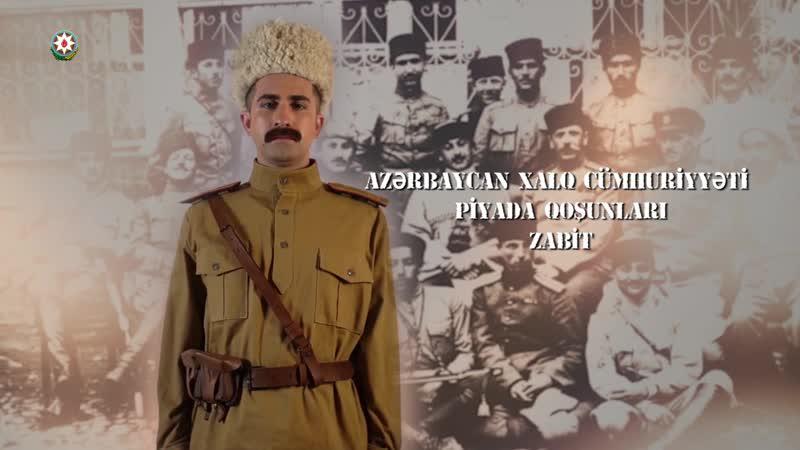 Azərbaycan ordusunun əsgər və zabitlərinə həsr olunur