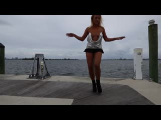 Jenny scordamaglia dance sexy to despacito sensual version miami tv