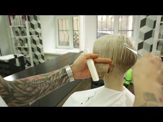 Раскрываем секреты - Стрижка коротких волос