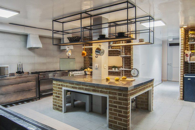 MAAN studio transforms women's rehabilitation center into communal kitchen in  Tehran